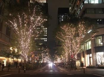 丸の内クリスマスデート2013